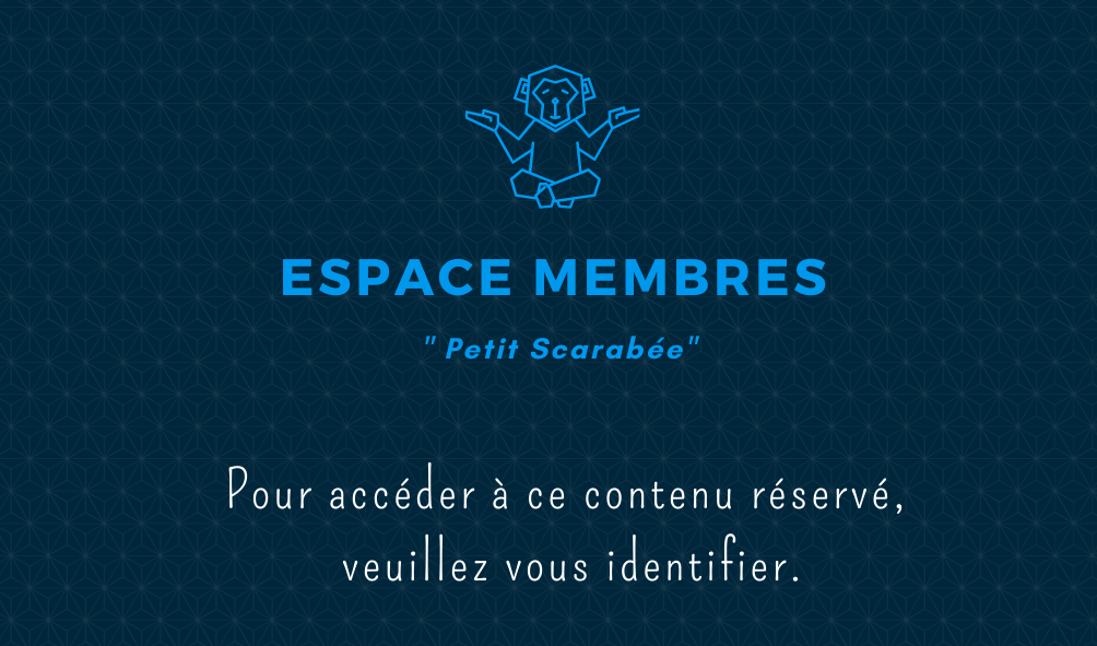 Acces restreint aux membres de l espace petit scarabee