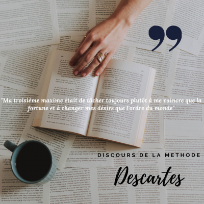 Citation de Descartes