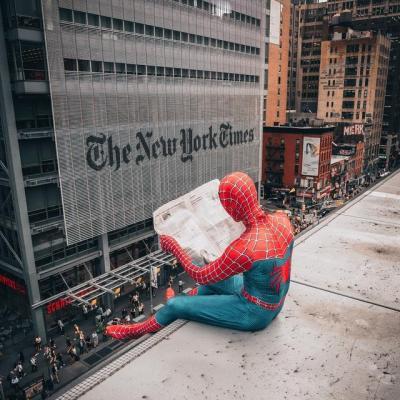Spiderman en live