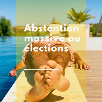 Abstention massive aux élections en France